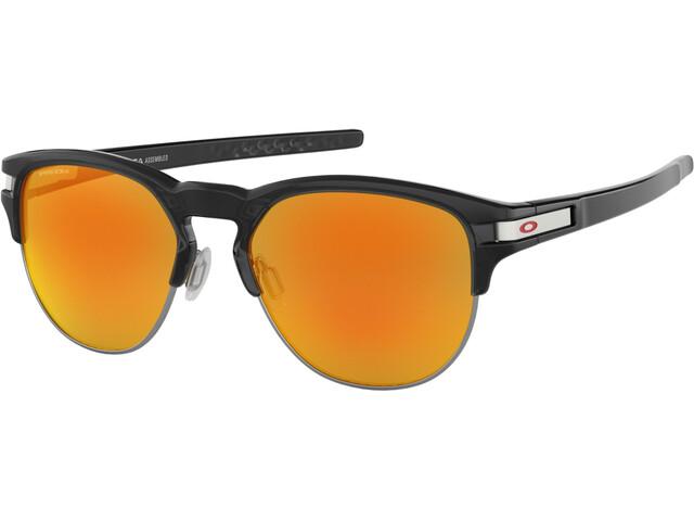 Oakley Latch Key M Sunglasses Polished Black Ink/Prizm Ruby